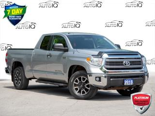 Used 2015 Toyota Tundra SR 5.7L V8 Selling as an AutoIQ Platinum Pre-Owned Vehicle! for sale in St Catharines, ON
