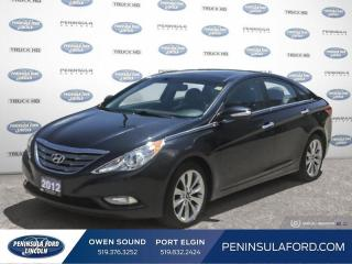 Used 2012 Hyundai Sonata Limited - Sunroof -  Leather Seats - $92 B/W for sale in Port Elgin, ON
