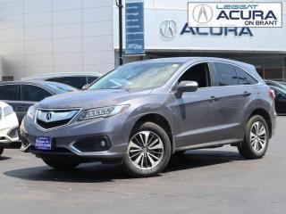 Used 2018 Acura RDX ELITE for sale in Burlington, ON