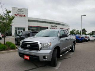 Used 2013 Toyota Tundra SR5 4.6L V8 DOUBLE CAB SR5 UPGRADE - TRAILER HITCH - SOFT TONNEAU COVER for sale in Stouffville, ON