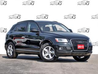 Used 2016 Audi Q5 2.0T Komfort Quattro All Wheel Drive for sale in Hamilton, ON