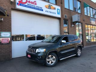 Used 2011 Jeep Grand Cherokee LIMITED-4X4-NAVI-SUNROOF-DVD-BACKUP CAM*CERTIFIED* for sale in York, ON
