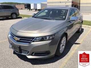 Used 2019 Chevrolet Impala 2LZ PREMIER V6 SUNROOF LEATHER NAVIGATION for sale in Orillia, ON