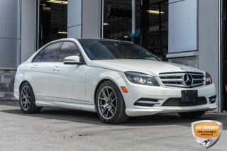 Used 2011 Mercedes-Benz C-Class AWD PANO ROOF for sale in Innisfil, ON
