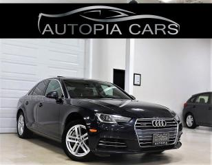 Used 2017 Audi A4 4dr Sdn Auto Komfort quattro for sale in North York, ON