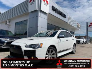 Used 2014 Mitsubishi Lancer Ralliart  -  Alloy Wheels - $66.03 /Wk for sale in Hamilton, ON