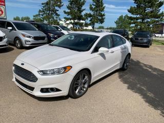 Used 2014 Ford Fusion Titanium 4dr Sdn Titanium AWD for sale in Edmonton, AB