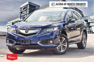 Used 2017 Acura RDX Elite at No Accident  Remote Start  Parking Sensor for sale in Thornhill, ON