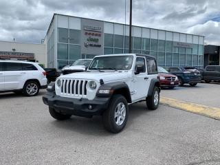 New 2020 Jeep Wrangler Sport S for sale in Pickering, ON