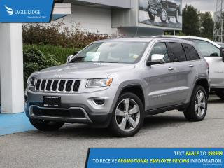 Used 2015 Jeep Grand Cherokee Limited Navigation, Heated Seats, Backup Camera for sale in Coquitlam, BC