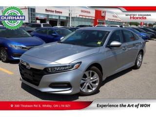 Used 2020 Honda Accord LX for sale in Whitby, ON
