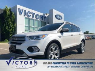 Used 2017 Ford Escape Titanium, Lane Departute, Navigation, Remote Start for sale in Chatham, ON