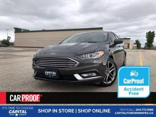 Used 2017 Ford Fusion SE Hybrid *No Accidents *Bluetooth *Keyless Start for sale in Winnipeg, MB