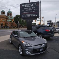 Used 2013 Hyundai Veloster Coupe for sale in Windsor, ON