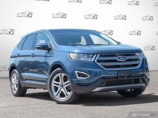 Used 2016 Ford Edge Titanium CANADIAN TOURING PACKAGE | COLD WEATHER PACKAGE for sale in Oakville, ON