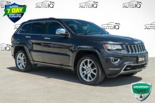 Used 2014 Jeep Grand Cherokee Overland LOADED PANO ROOF 4 CORNER AIR RIDE for sale in Innisfil, ON