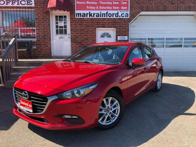 2018 Mazda MAZDA3 GS Hatchback 6 spd Manual Sunroof Back Up Cam BT