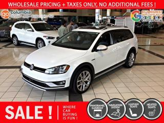 Used 2017 Volkswagen Golf Alltrack Golf Alltrack - Pano Sunroof / Nav / Leather for sale in Richmond, BC