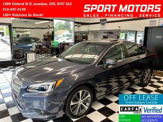 Used 2017 Subaru Legacy 3.6R w/Limited TECH+Eye Sight+AWD+Accident Free for sale in London, ON