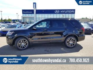 Used 2018 Ford Explorer SPORT/4WD/LEATHER/PANO SUNROOF for sale in Edmonton, AB