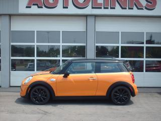 Used 2014 MINI Cooper S S   manual / sunroof/ navigation for sale in St Catharines, ON