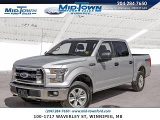 Used 2016 Ford F-150 4WD SuperCrew 145  XLT for sale in Winnipeg, MB