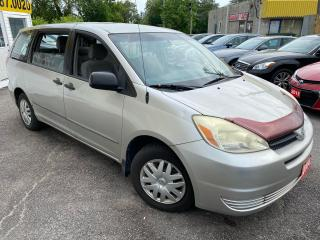 Used 2004 Toyota Sienna CE/ CAPTAIN SEATS/ COLD AC/ PWR GROUP & MORE! for sale in Scarborough, ON