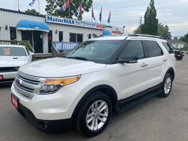 2014 Ford Explorer XLT-4WD-NAVI-ACCIDENT FREE