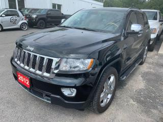 Used 2012 Jeep Grand Cherokee Overland for sale in Peterborough, ON