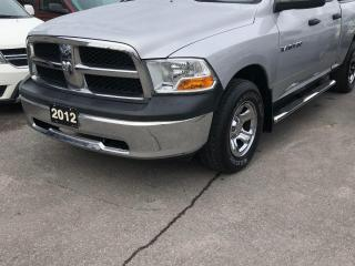 Used 2012 RAM 1500 ST  Quad Cab for sale in Peterborough, ON