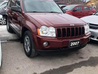 Used 2007 Jeep Grand Cherokee for sale in Peterborough, ON