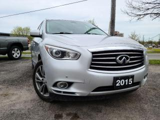 Used 2015 Infiniti QX60 for sale in Peterborough, ON