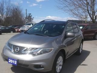Used 2012 Nissan Murano SL for sale in Peterborough, ON