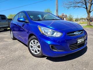 Used 2014 Hyundai Accent GLS for sale in Peterborough, ON