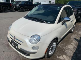 Used 2013 Fiat 500 C LOUNGE CABRIO for sale in Peterborough, ON