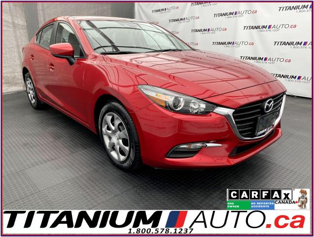 2018 Mazda MAZDA3 GPS+Camera+Smart City Brake+SkyActive+BlueTooth+