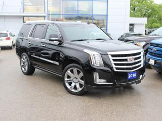 Used 2016 Cadillac Escalade Premium Collection 1 OWNER | FULLY LOADED for sale in Winnipeg, MB