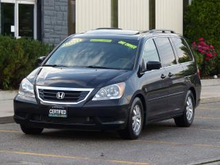 Used 2009 Honda Odyssey LEATHER,EX-L,REAR-CAM,8-SEATS,PWR DOOR,DVD,1-OWNER for sale in Mississauga, ON