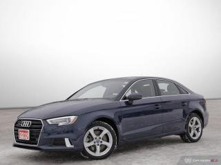 Used 2019 Audi A3 Sedan KOMFORT for sale in Ottawa, ON