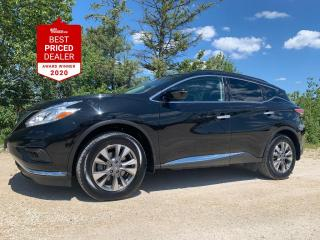 Used 2017 Nissan Murano *NAVIGATION - APPLE CARPLAY - CLEAN HISTORY - * for sale in Winnipeg, MB