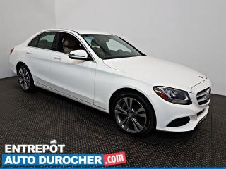 Used 2016 Mercedes-Benz C-Class C 300 AWD AIR CLIMATISÉ - Sièges Chauffants for sale in Laval, QC