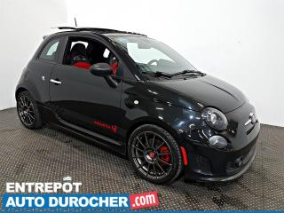 Used 2012 Fiat 500 Abarth 1.4L Turbo TOIT OUVRANT - A/C - Cuir for sale in Laval, QC