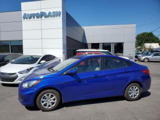 Used 2013 Hyundai Accent GL *AUTO *CRUISE *GR-ELECTRIQUE *SIEGES-CHAUFFANTS for sale in Saint-Hubert, QC
