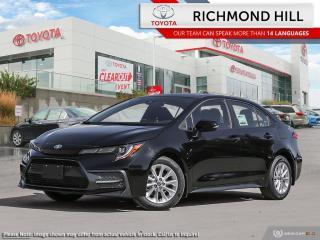 New 2020 Toyota Corolla Corolla SE CVT for sale in Richmond Hill, ON