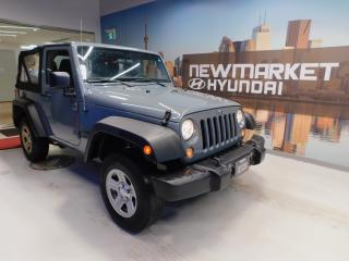 Used 2014 Jeep Wrangler Sport 4x4 Manual for sale in Newmarket, ON