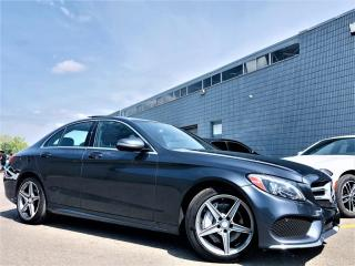 Used 2016 Mercedes-Benz C 300 |4MATIC|PANORAMIC|HEATED MEMORY SEATS|NAVI|REAR VIEW CAM| for sale in Brampton, ON