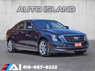 Used 2015 Cadillac ATS SEDAN**LEATHER**SUPER CLEAN** for sale in North York, ON