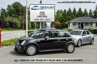 Used 2004 MINI Cooper Hardtop S COUPE, Local, Low 101k, 6-Speed Manual, Pano Roof for sale in Surrey, BC