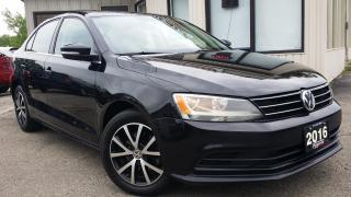 Used 2016 Volkswagen Jetta Comfortline - BACK-UP CAM! SUNROOF! HEATED SEATS! for sale in Kitchener, ON