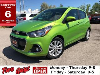 Used 2016 Chevrolet Spark 1LT | 5 Spd | B/Up Cam | Bluetooth | Fog Lamps for sale in St Catharines, ON